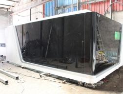 山东激光切割加工厂工程设备展示